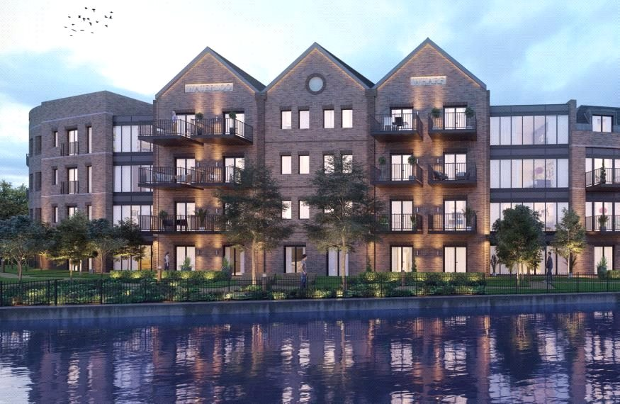 2 Bedrooms Apartment Flat for sale in Waterloo Wharf, Waterloo Road, Uxbridge, UB8