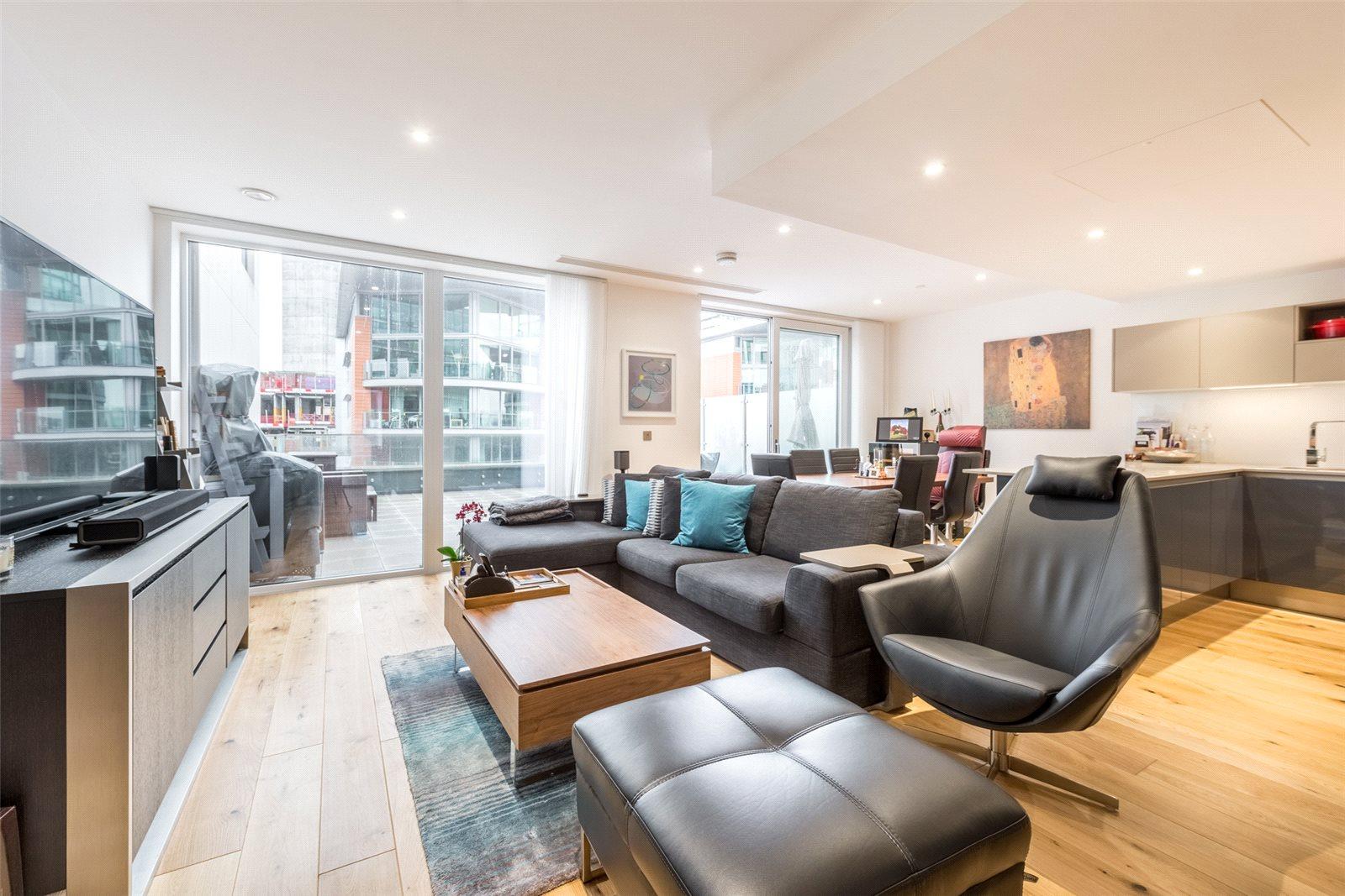 3 Bedrooms Apartment Flat for sale in Paddington Exchange, Paddington Basin, London, W2