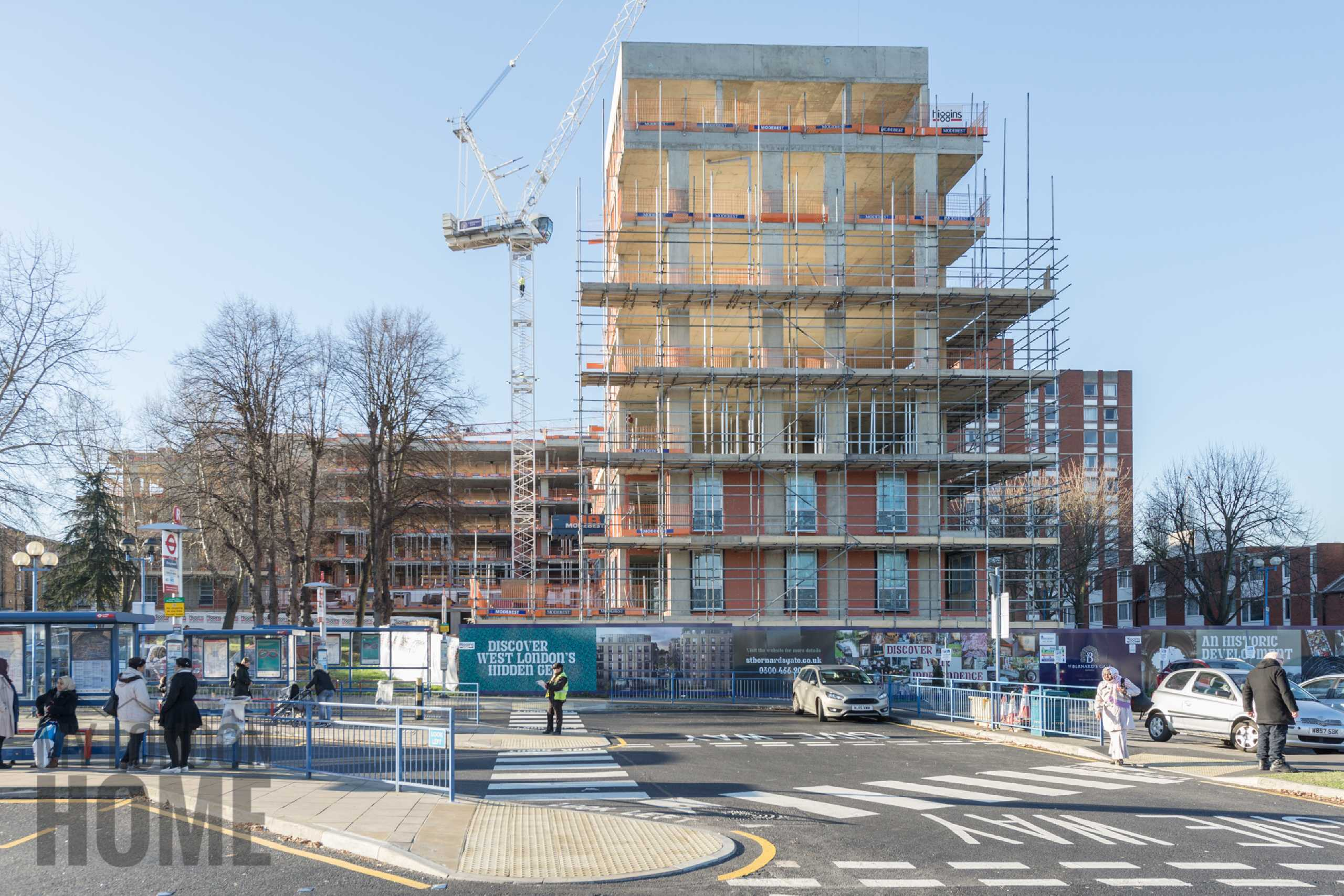 2 Bedrooms Apartment Flat for sale in Connolly House, St Bernard's Gate, Ealing, London, UB1
