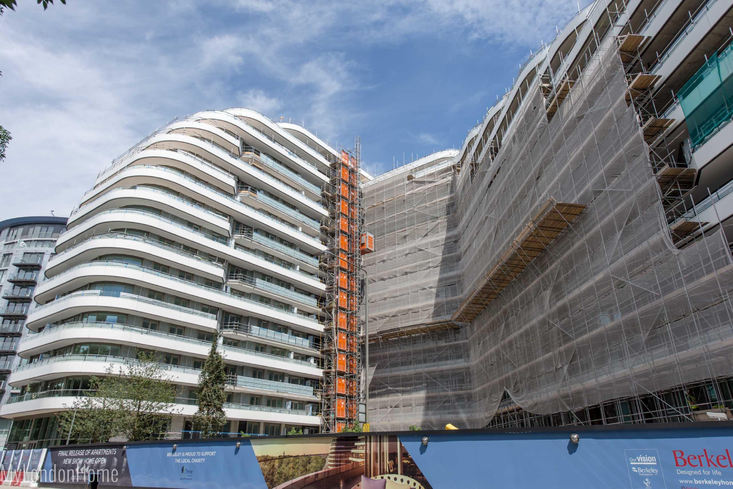 2 Bedrooms Apartment Flat for sale in Sophora House, Vista, Chelsea Bridge, Battersea, SW8
