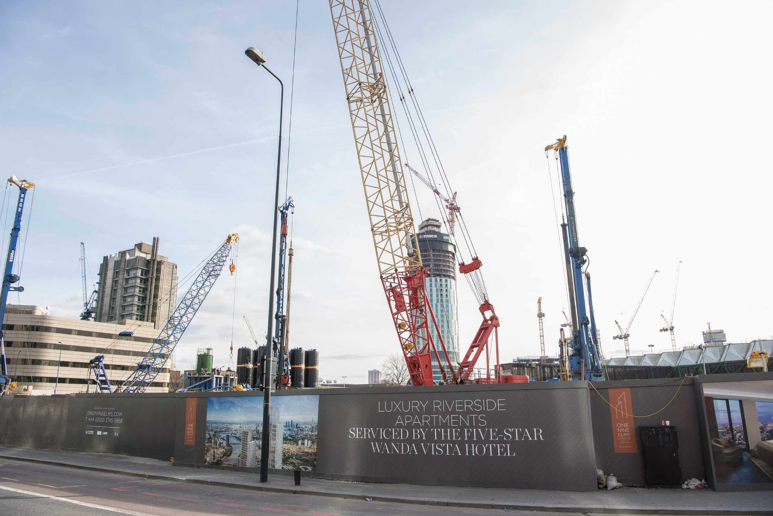2 Bedrooms Apartment Flat for sale in One Nine Elms, City Tower, Vauxhall, London, SW8