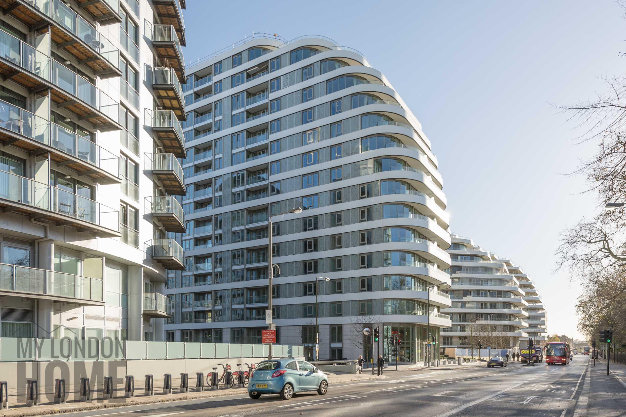 2 Bedrooms Apartment Flat for sale in Vista, Chelsea Bridge, Altismissa House, Battersea, SW8