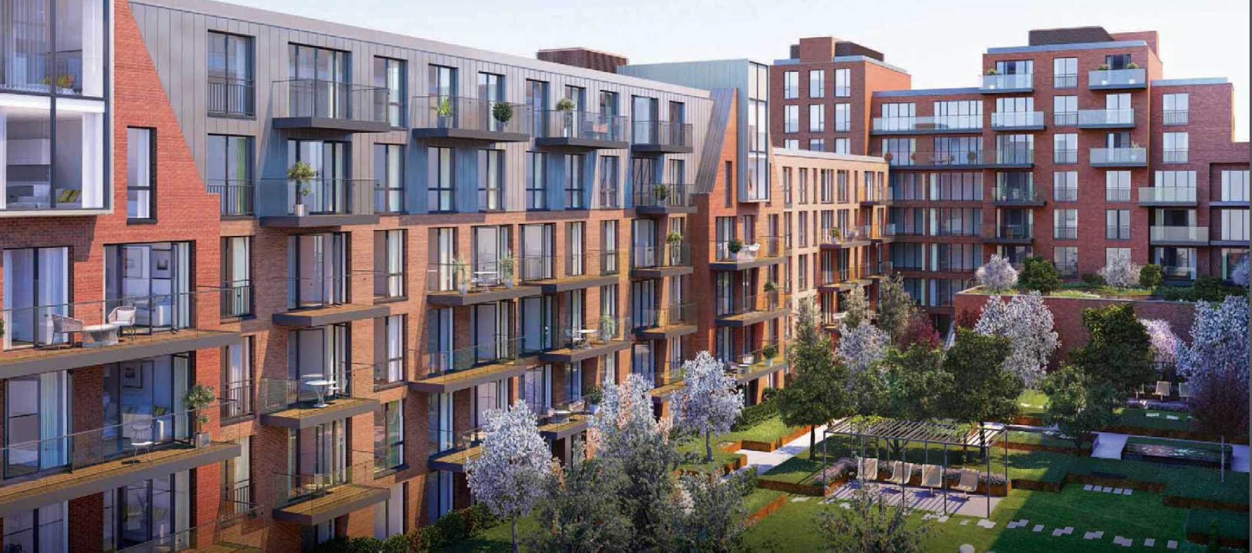 2 Bedrooms Apartment Flat for sale in Streatham Hill, Core F, 142-170 Streatham Hill, London, SW2