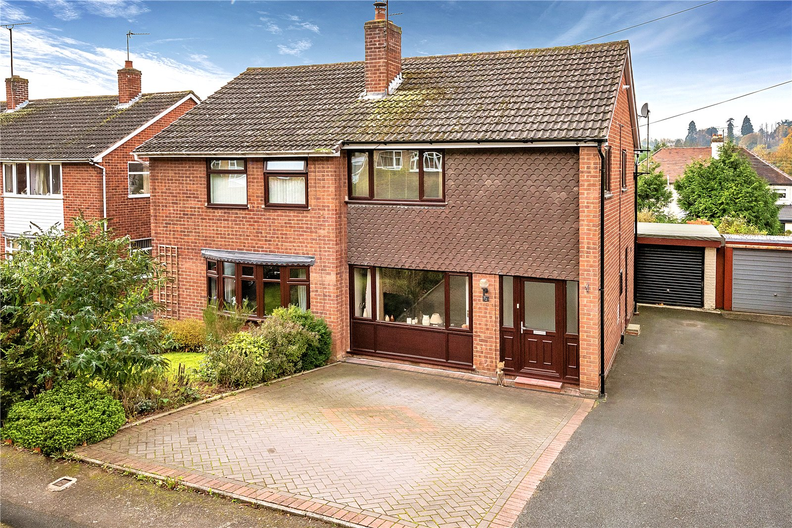 3 Bedrooms Semi Detached House for sale in 72 Hillside Avenue, Bridgnorth, Shropshire, WV15