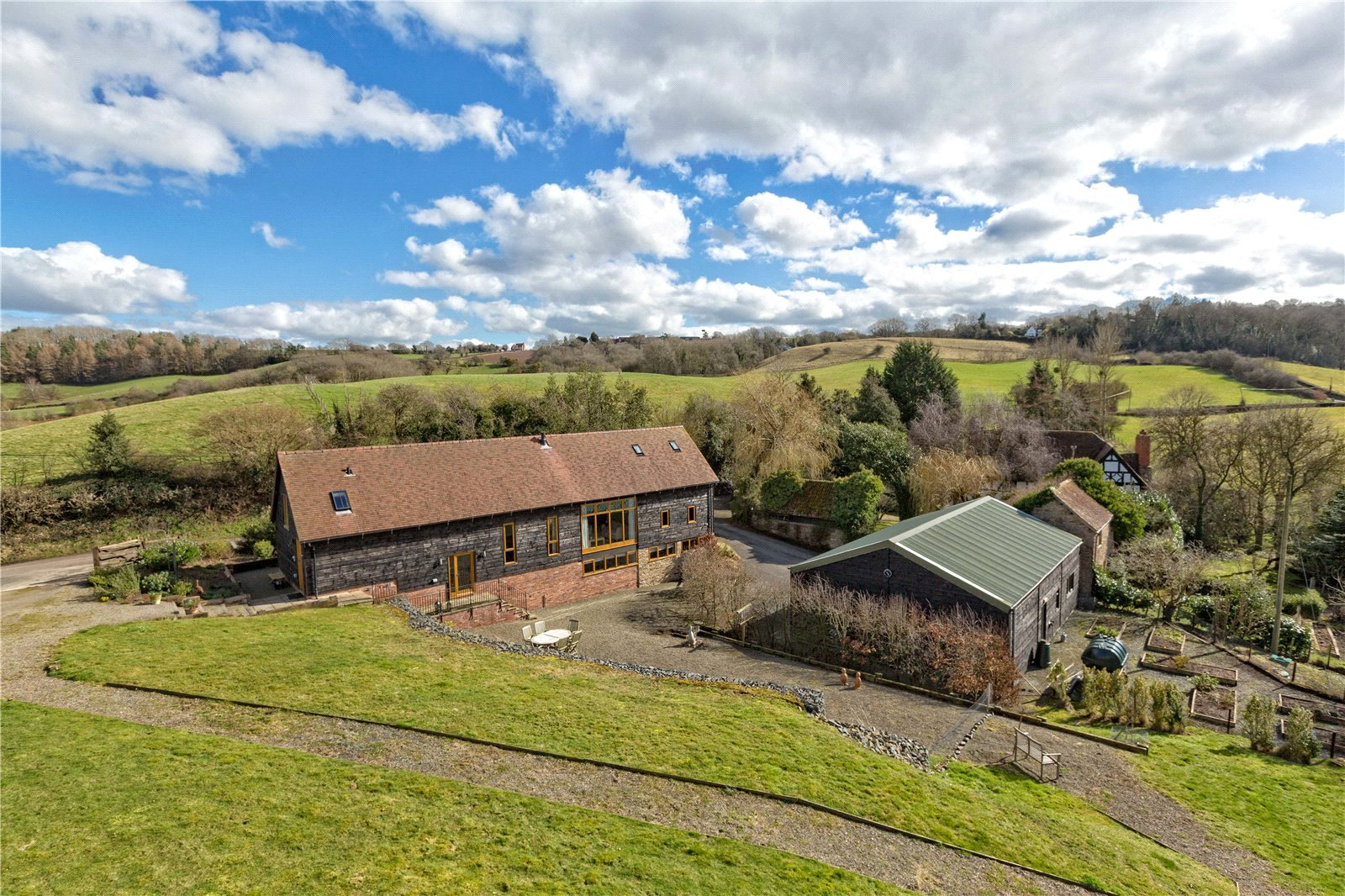 Upper Bank, Eastham, Tenbury Wells, Worcestershire, WR15
