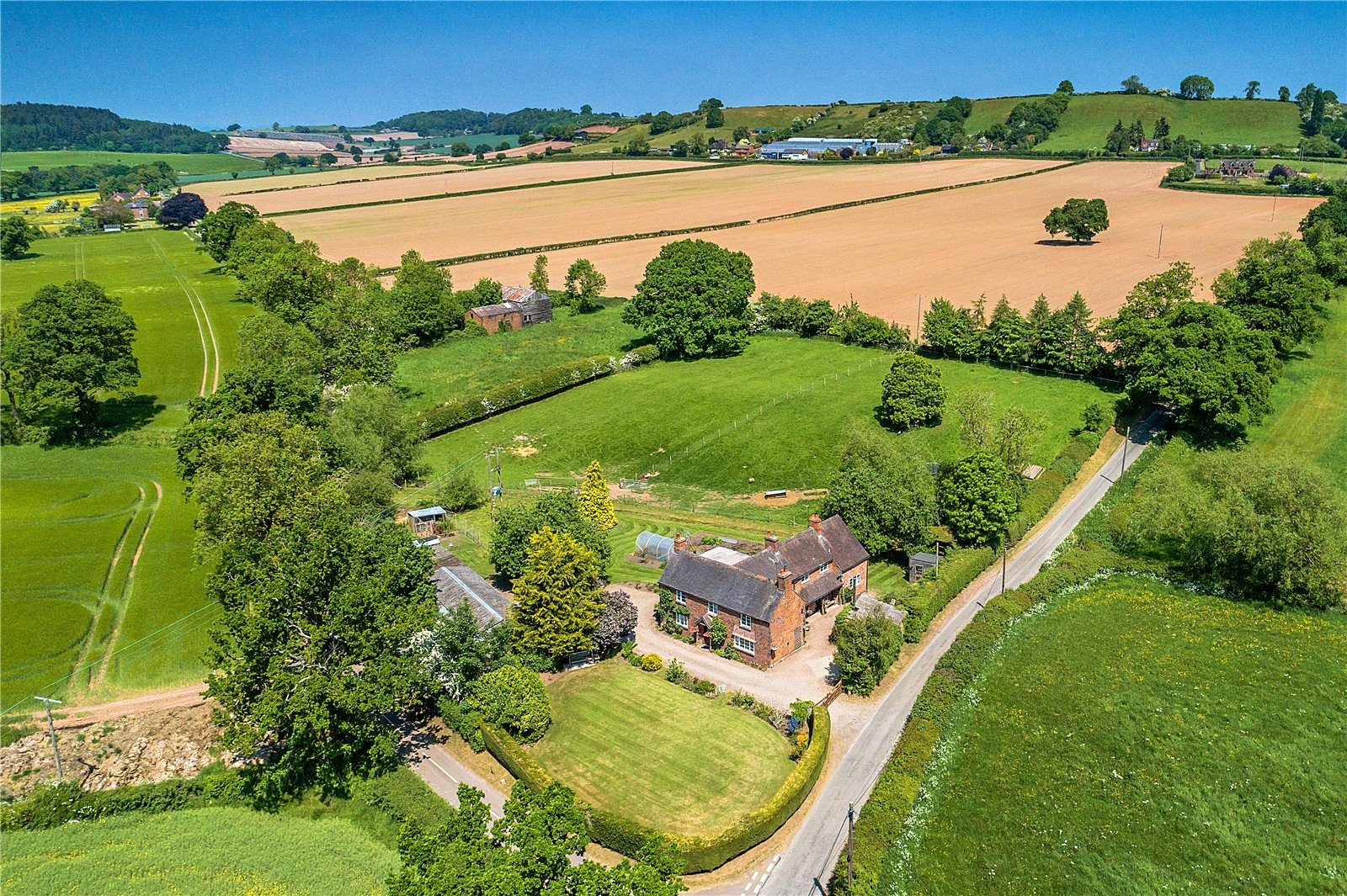 Wootton Farmhouse, Wootton, Bridgnorth, Shropshire, WV15