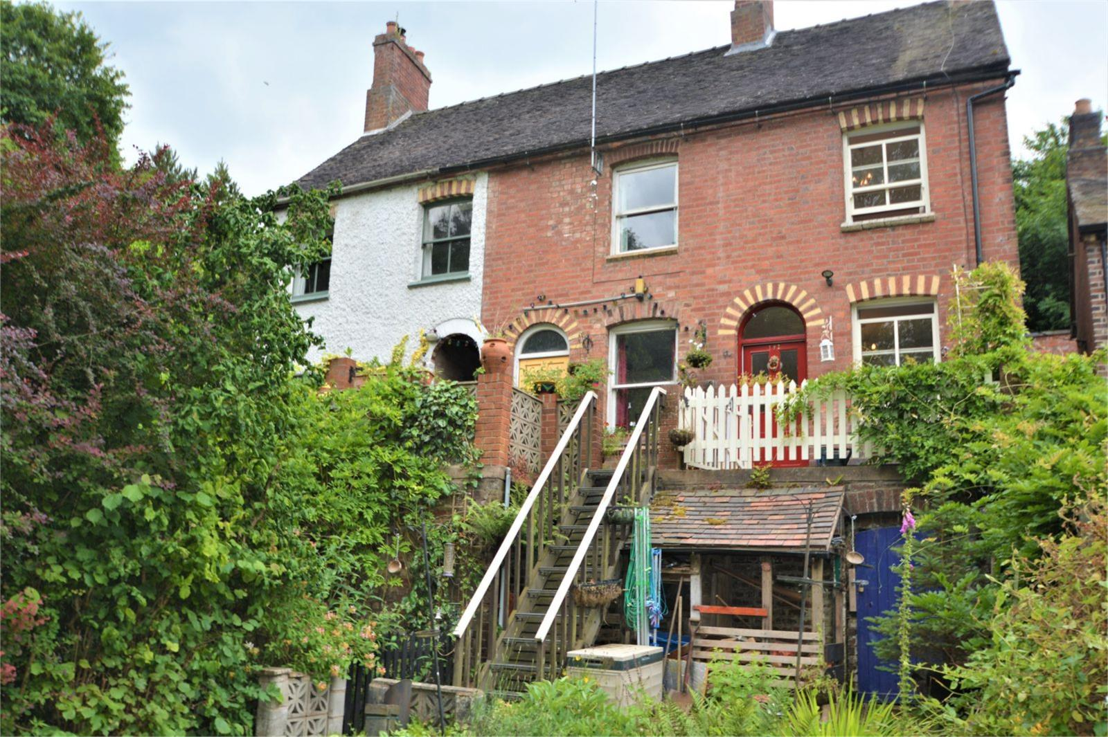 2 Bedrooms Terraced House for sale in 192 Severn Terrace, Salthouse Road, Jackfield, Shropshire, TF8