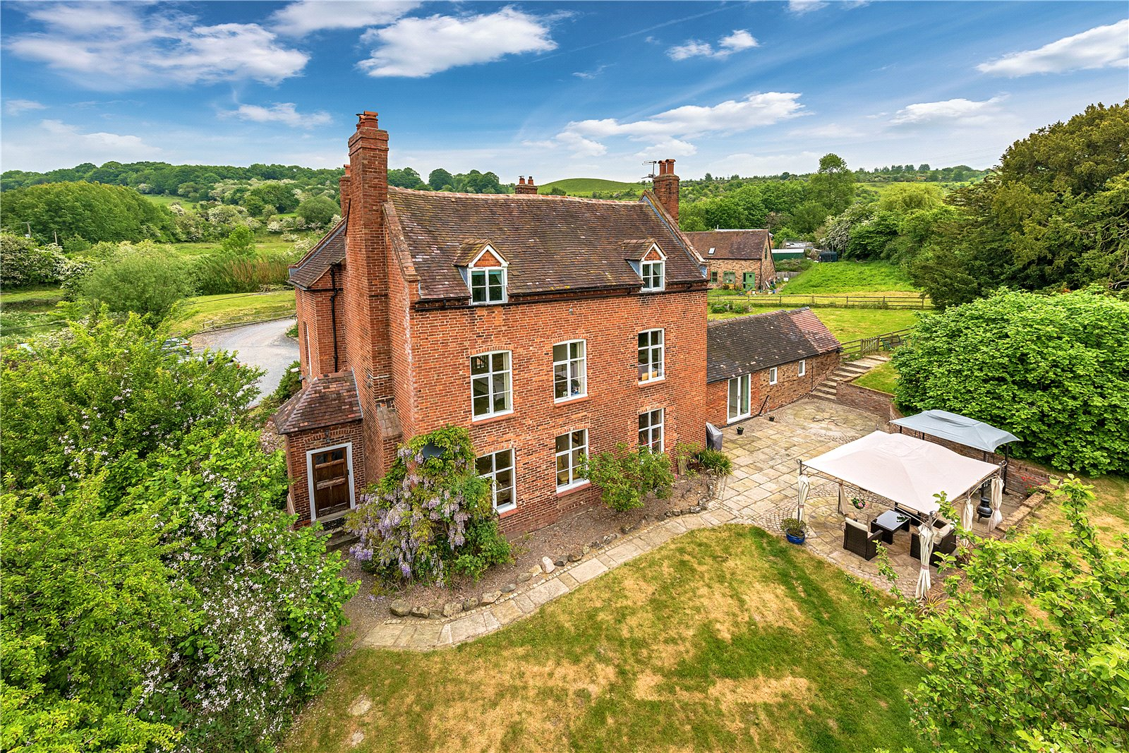 Church Farm House, Buildwas, Shropshire, TF8