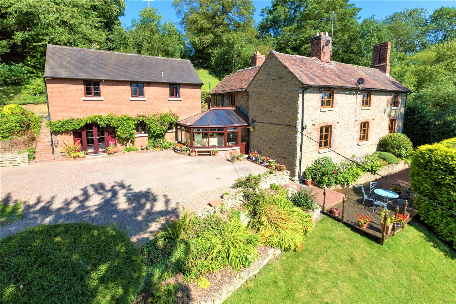 The Bank House, 13-14 Bourton, Much Wenlock, Shropshire, TF13