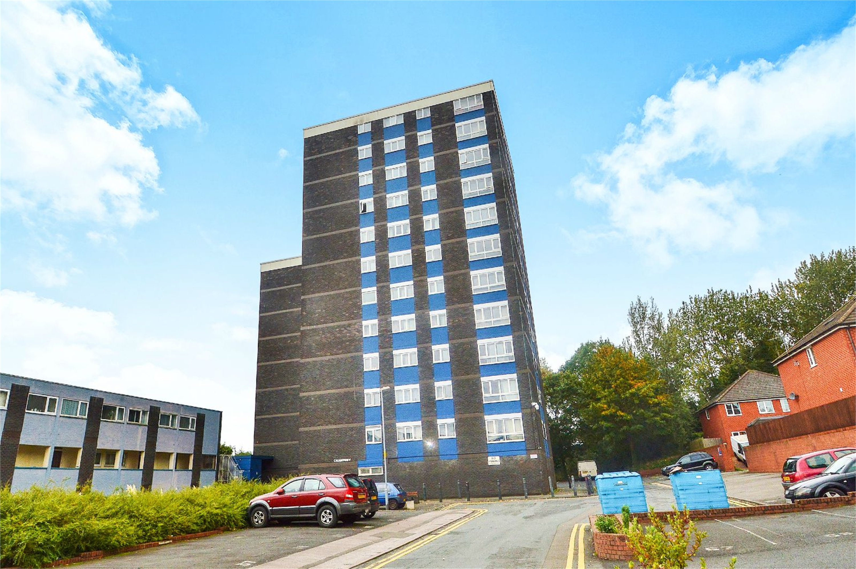 2 Bedrooms Flat for sale in Flat 14 Champney Court, St Cecilia Close, Kidderminster, Worcestershire, DY10