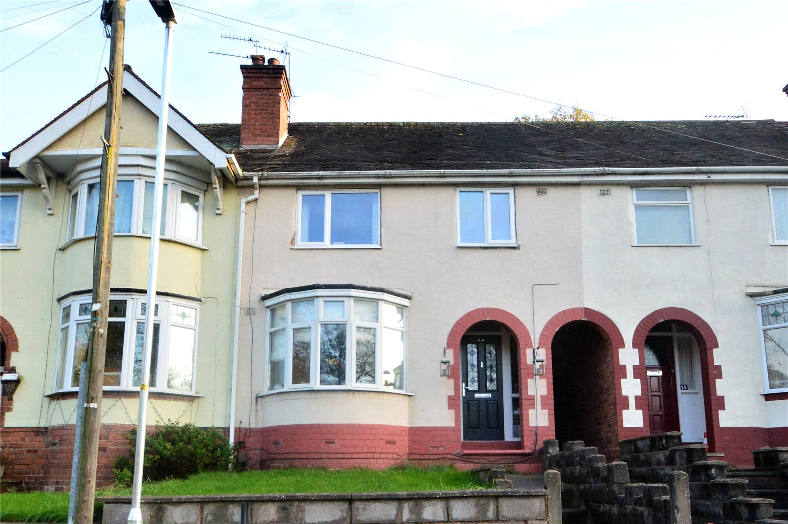 3 Bedrooms Terraced House for sale in 15 Broadwaters Drive, Kidderminster, Worcestershire, DY10