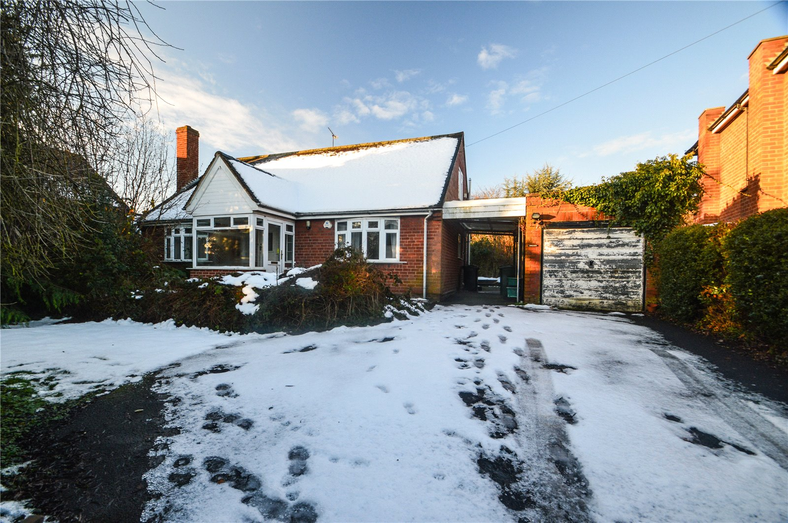 3 Bedrooms Detached Bungalow for sale in Thirlmere, New Road, Cleobury Mortimer, Kidderminster, Shropshire, DY14
