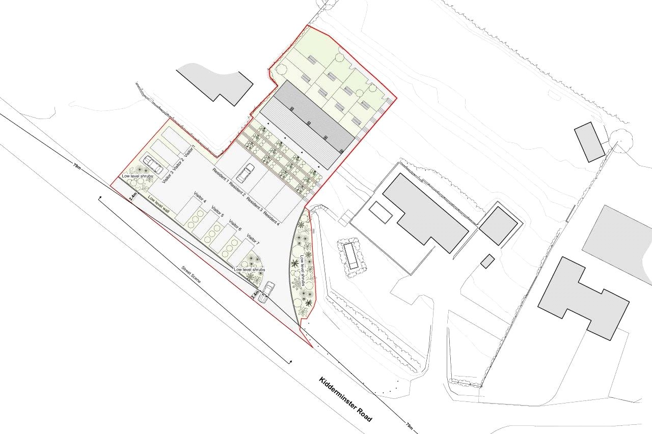 Plot Commercial for sale in Building Plot, Former Filling Station, Quatford, Bridgnorth, Shropshire, WV15