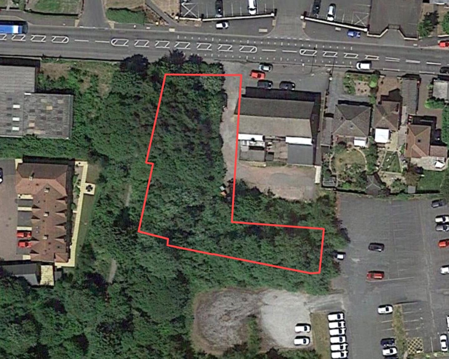 Site Of Former Station House, Station Road, Ketley, Telford, TF1