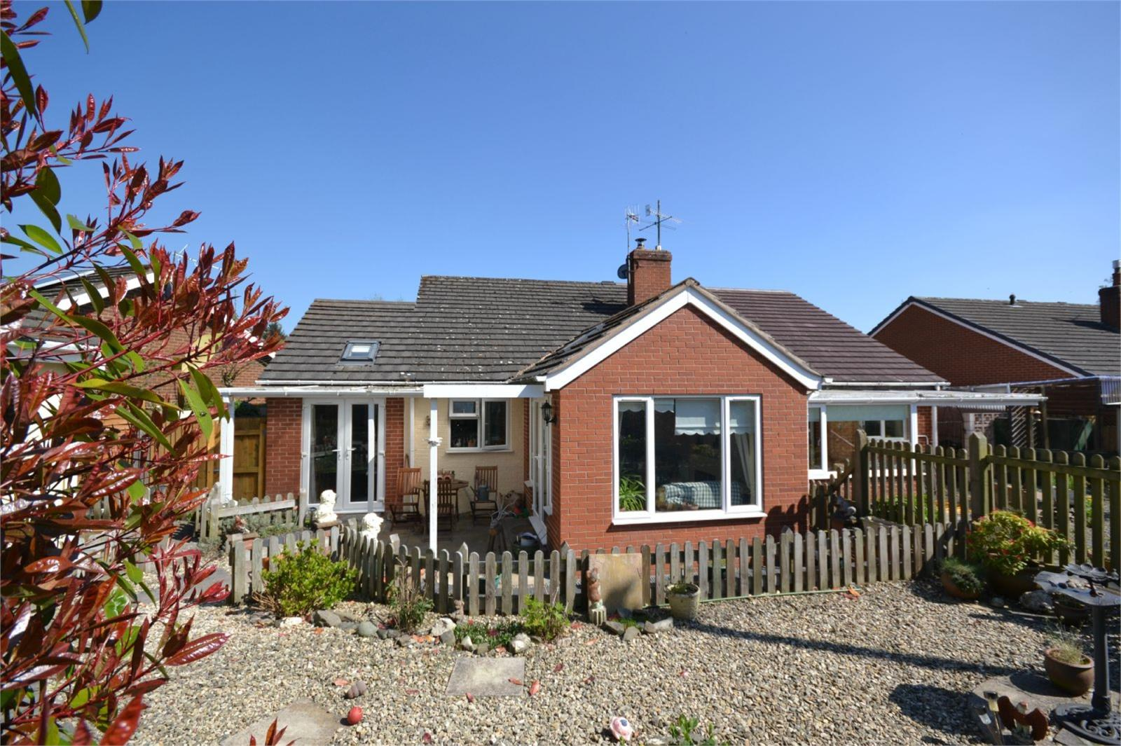 2 Bedrooms Semi Detached Bungalow for sale in 4 Dog Kennel Lane, Bucknell, Shropshire, SY7