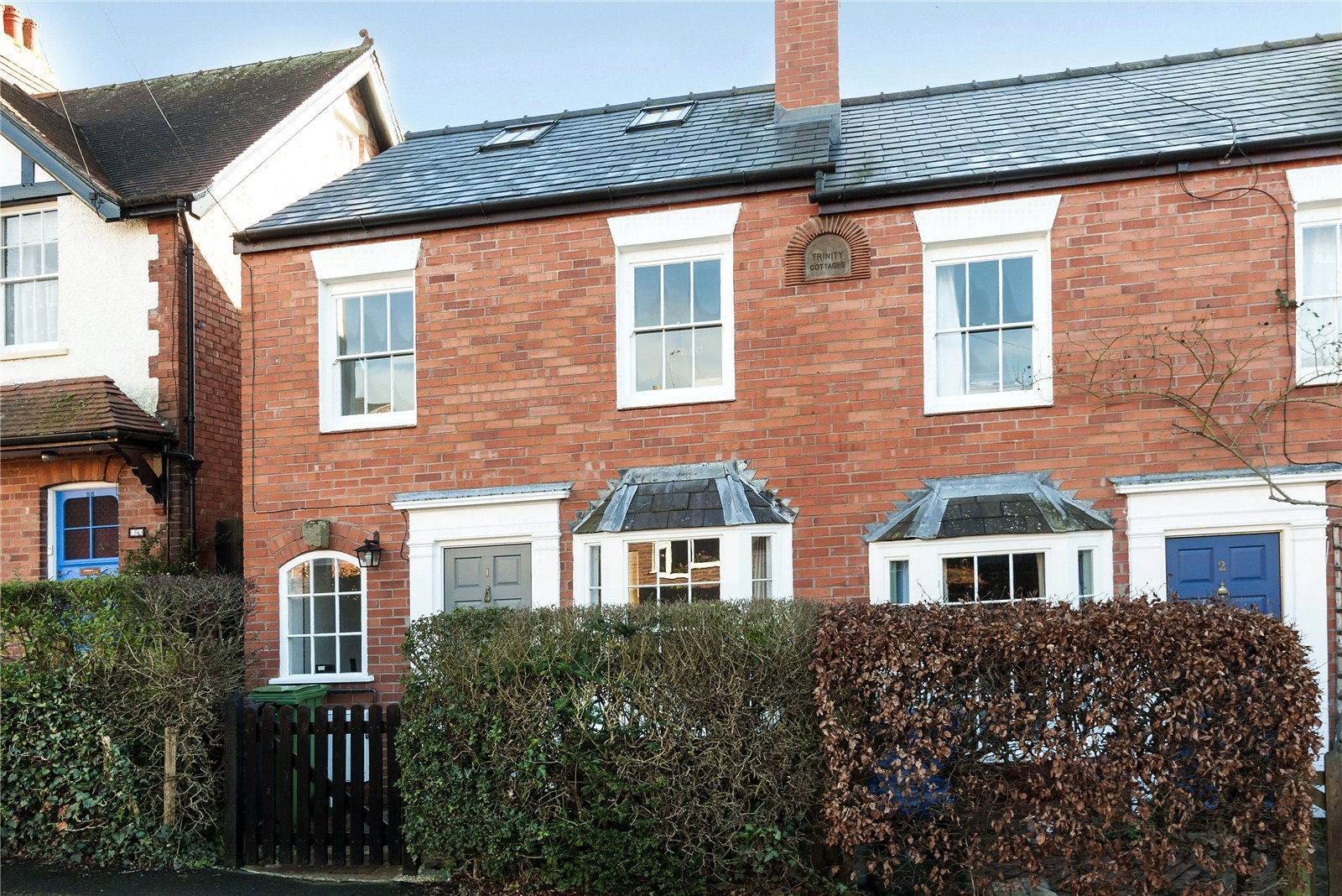 2 Bedrooms End Of Terrace House for sale in 1 Trinity Cottages, Julian Road, Ludlow, Shropshire, SY8