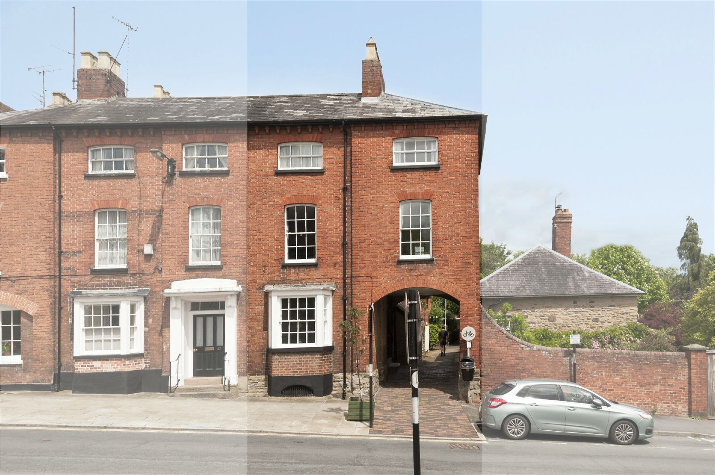 4 Bedrooms Terraced House for sale in 89 Old Street, Ludlow, Shropshire, SY8
