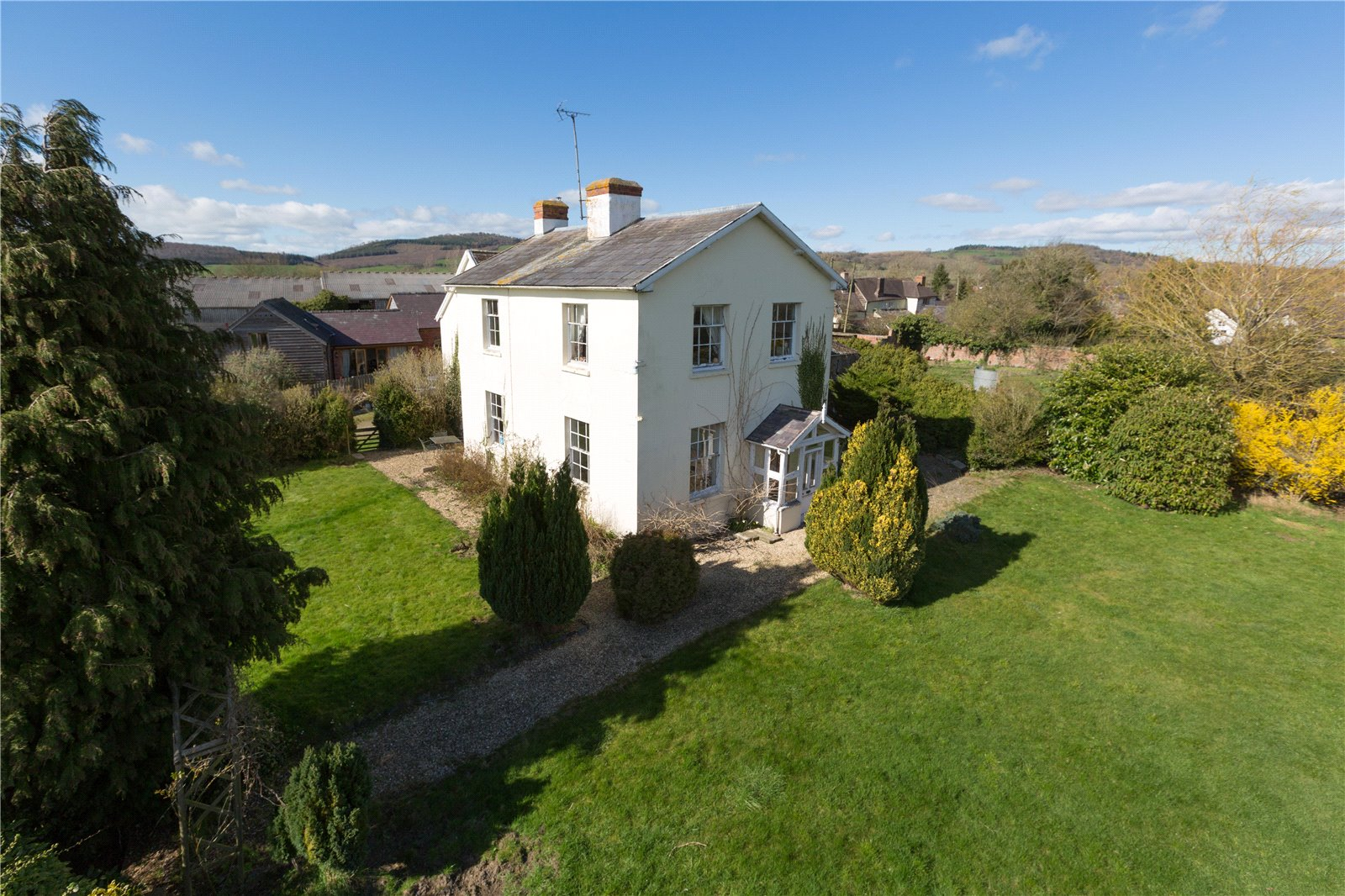 Broome Farm House, Aston-on-Clun, Craven Arms, Shropshire, SY7