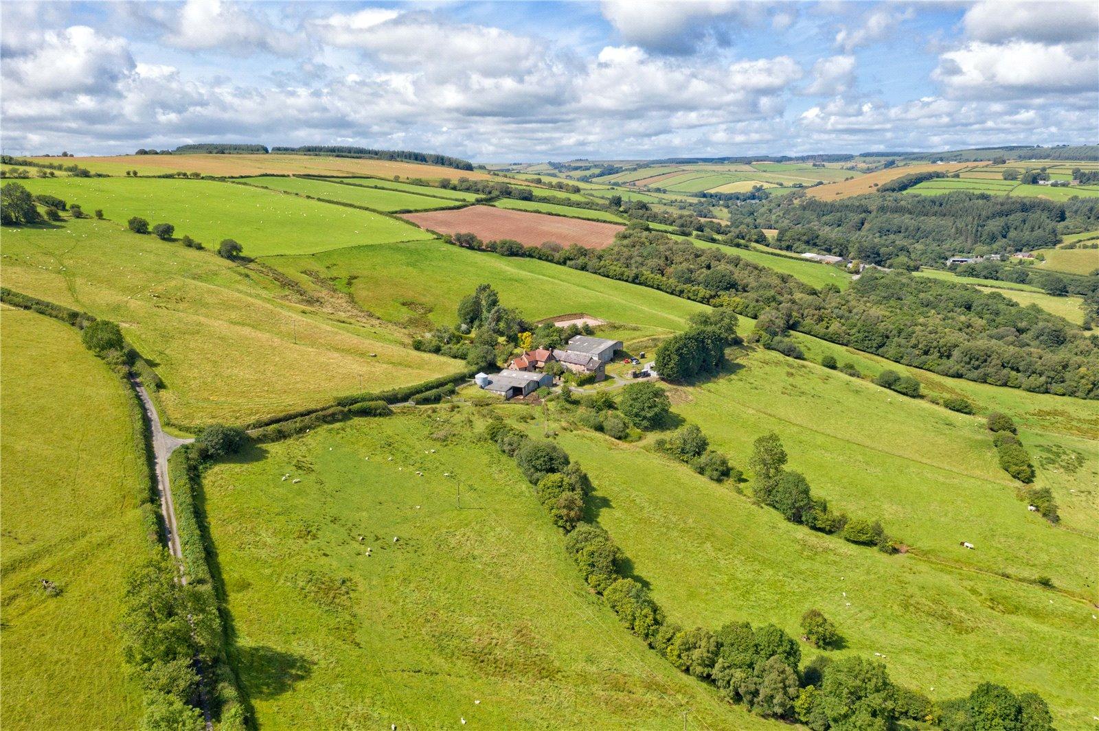 Black Mountain Farm, Newcastle, Craven Arms, Shropshire, SY7