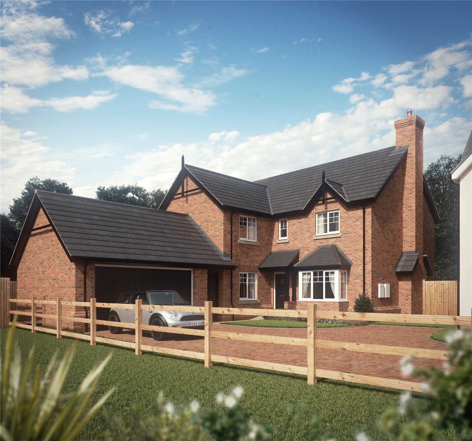 Plot 6, The Exeter, Chester Road, Hinstock, Shropshire, TF9