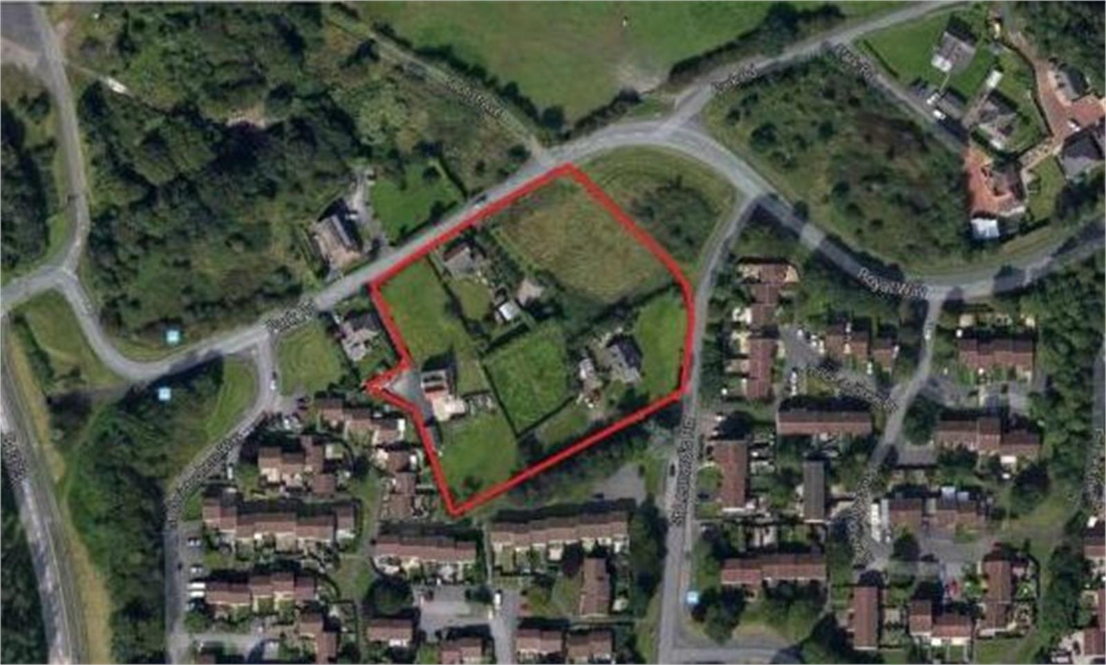 Building Plot on, Park Road, Malinslee, Telford, Shropshire, TF4