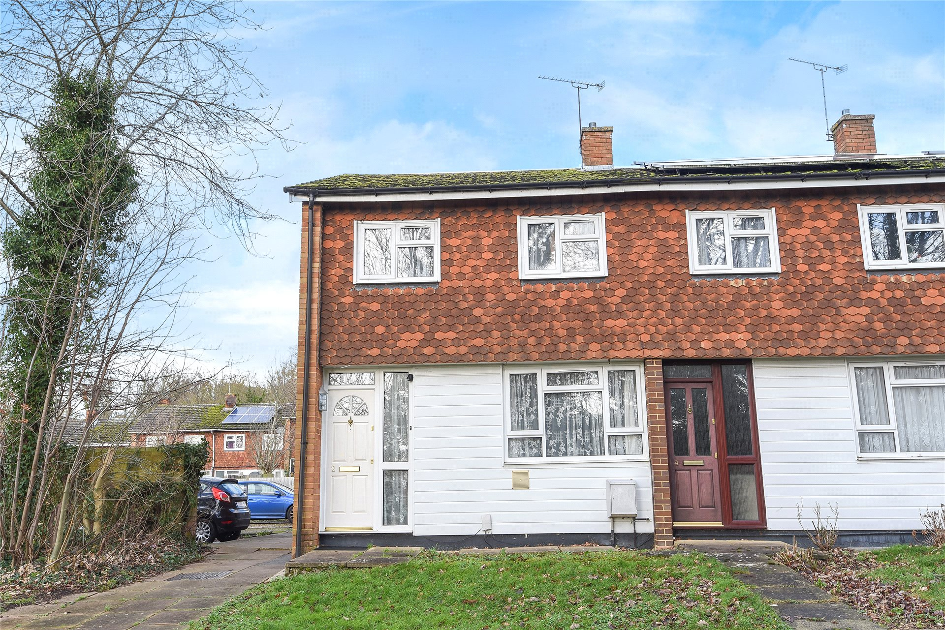 3 Bedrooms End Of Terrace House for sale in Eliot Close, Emmer Green, Reading, Berkshire, RG4