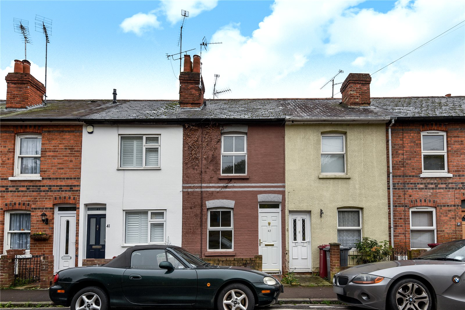 2 Bedrooms Terraced House for sale in Wolseley Street, Reading, Berkshire, RG1