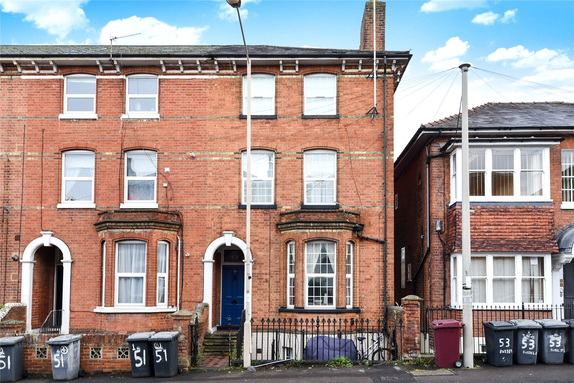 2 Bedrooms Apartment Flat for sale in Russell Street, Reading, Berkshire, RG1