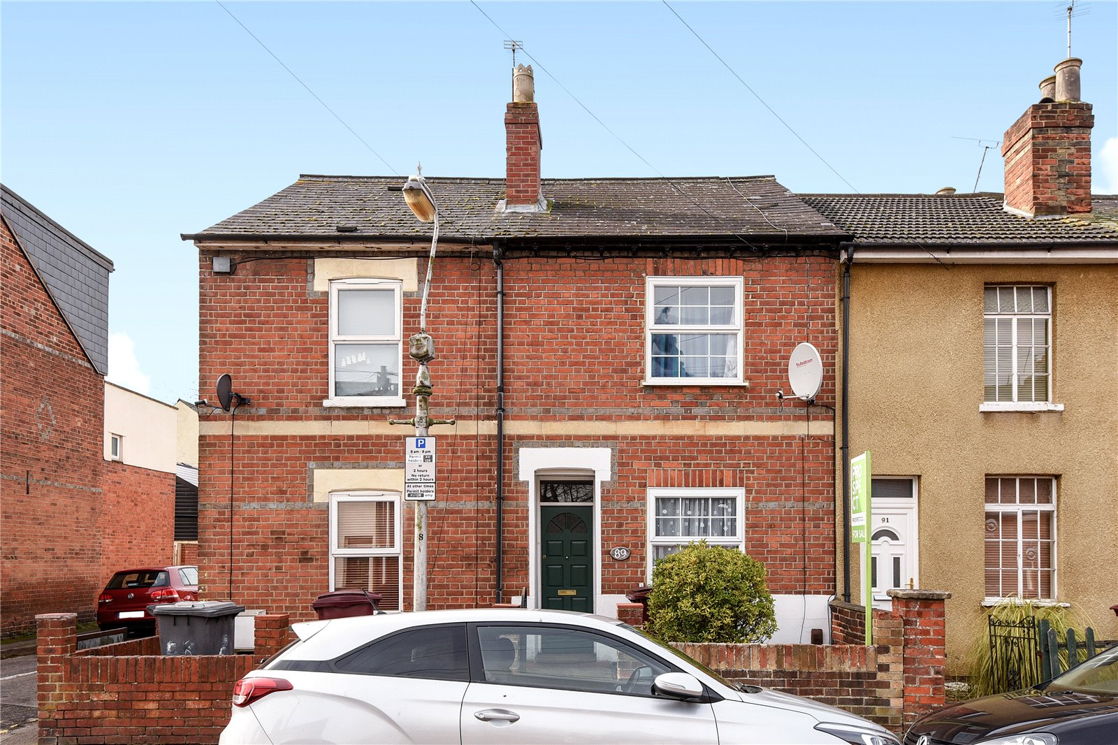 3 Bedrooms Terraced House for sale in Cumberland Road, Reading, Berkshire, RG1