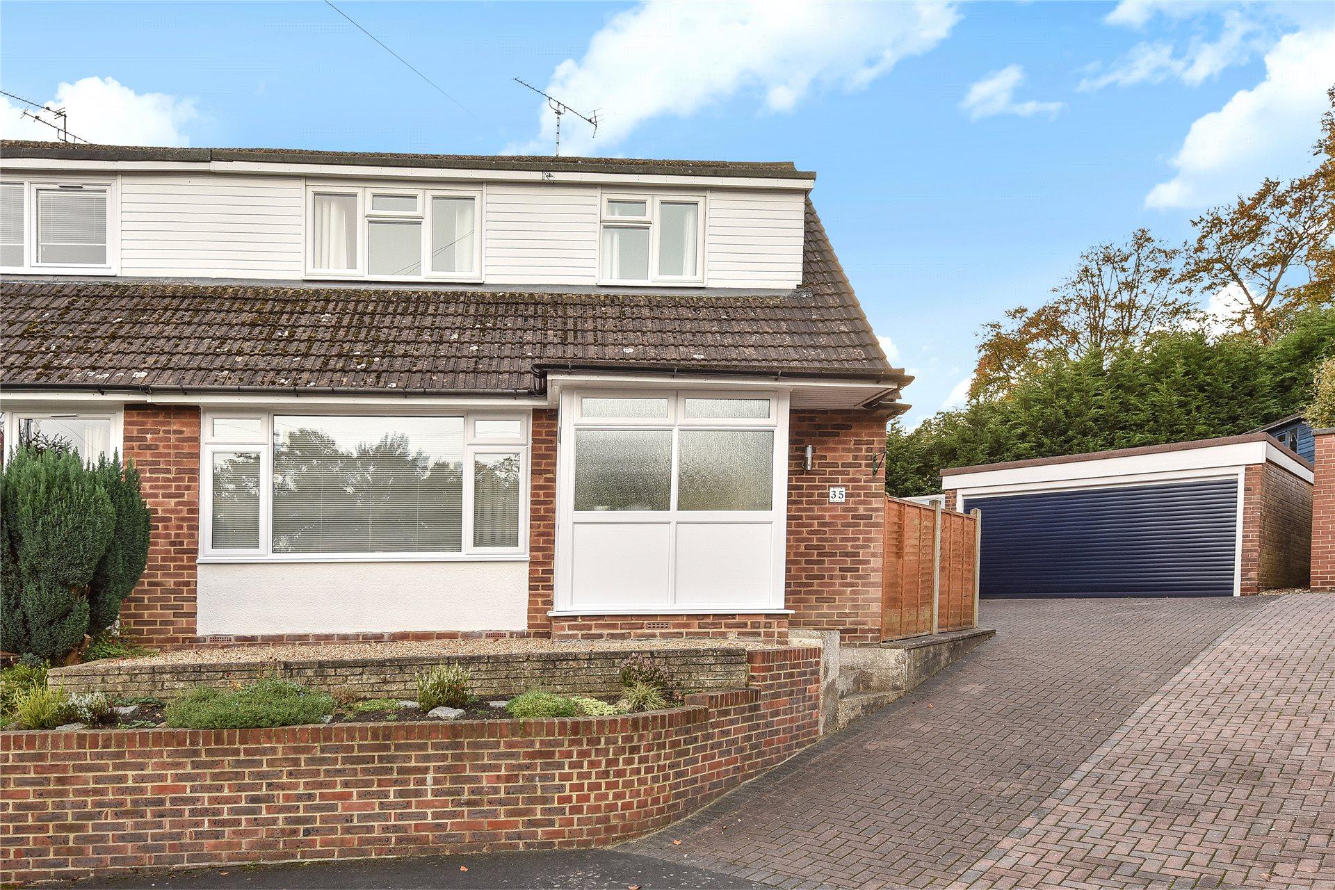 4 Bedrooms Semi Detached House for sale in Harts Leap Close, Sandhurst, Berkshire, GU47