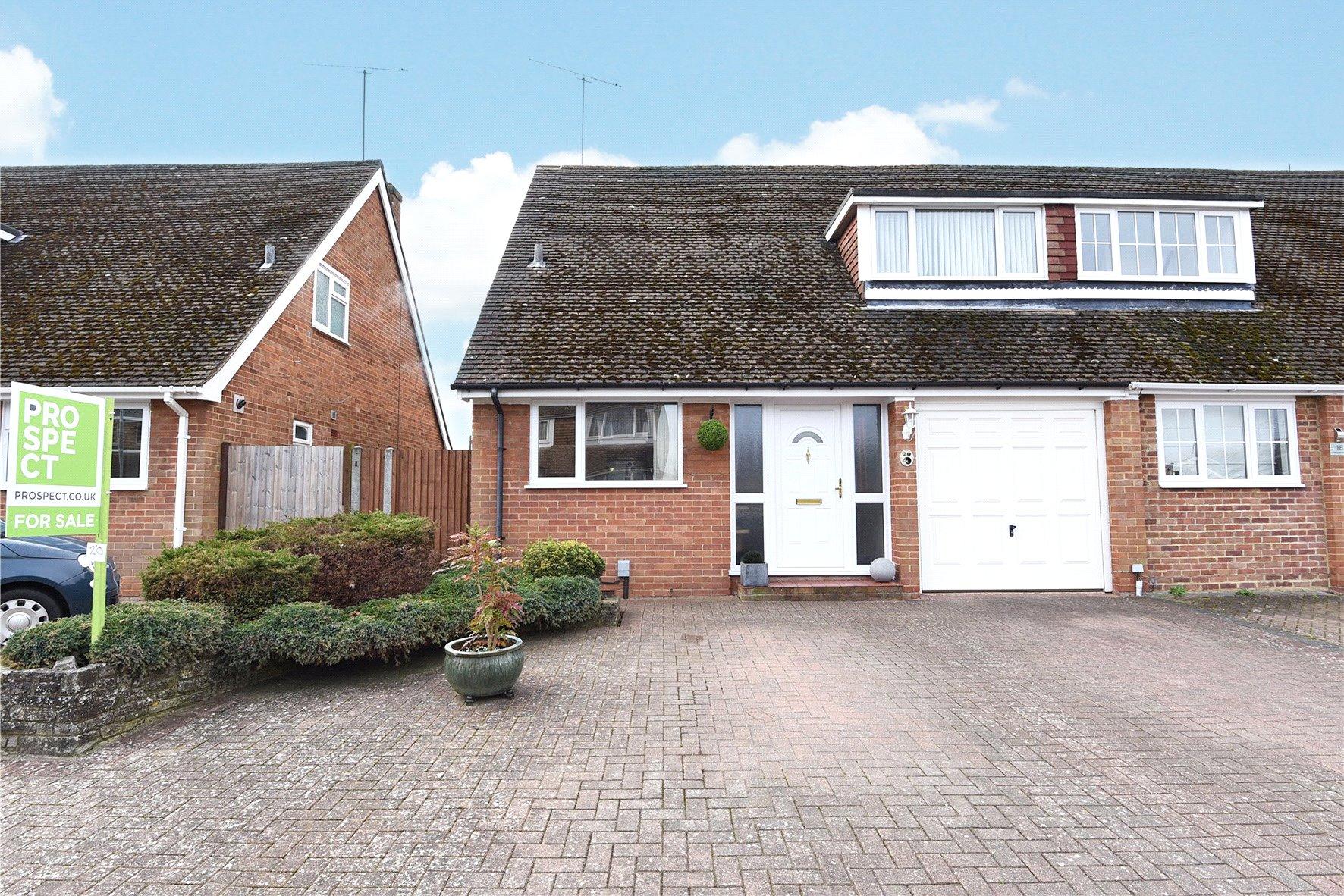 3 Bedrooms Semi Detached House for sale in Deerhurst Avenue, Winnersh, Wokingham, Berkshire, RG41