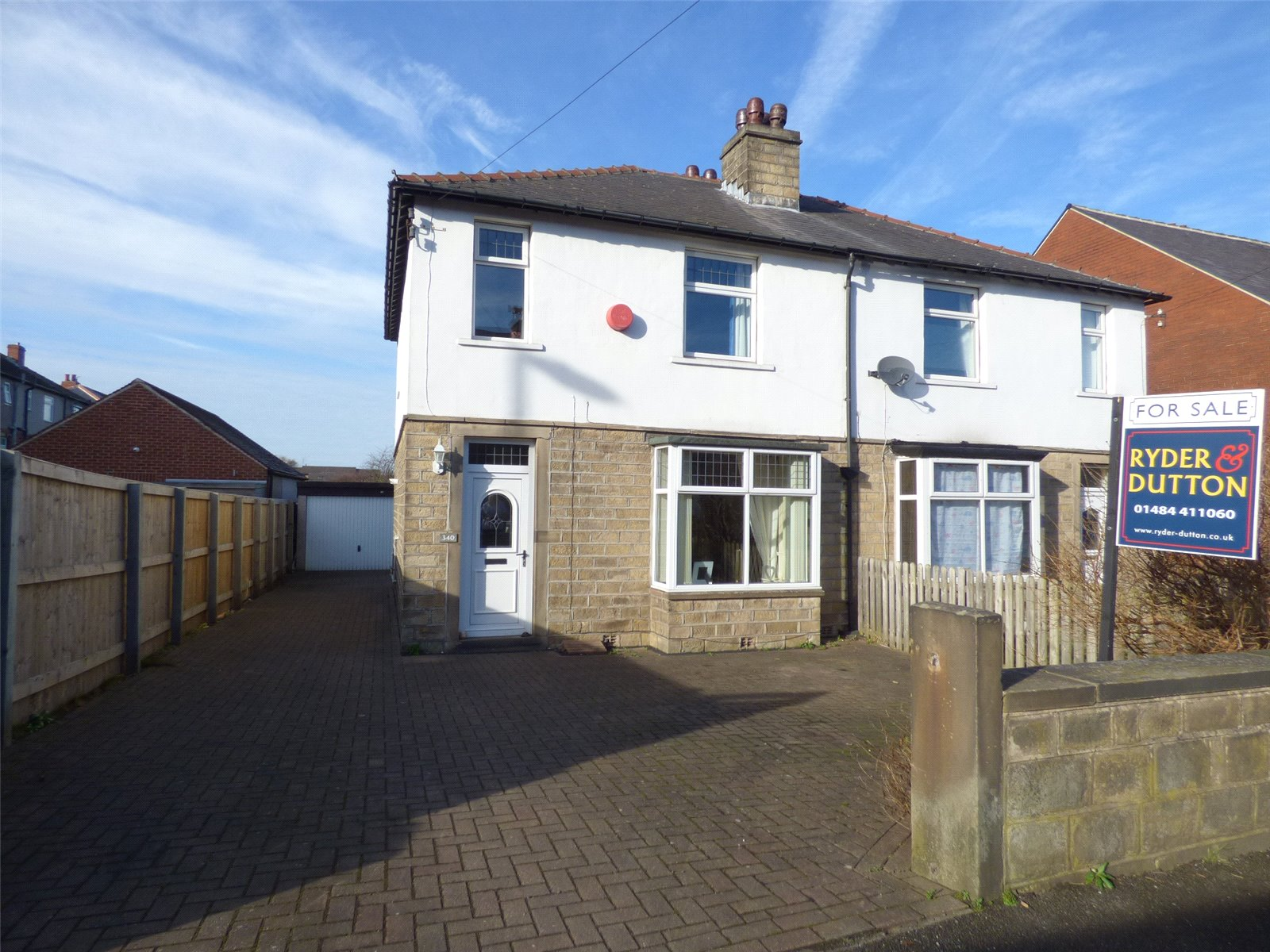 3 Bedrooms Semi Detached House for sale in Newsome Road, Huddersfield, West Yorkshire, HD4