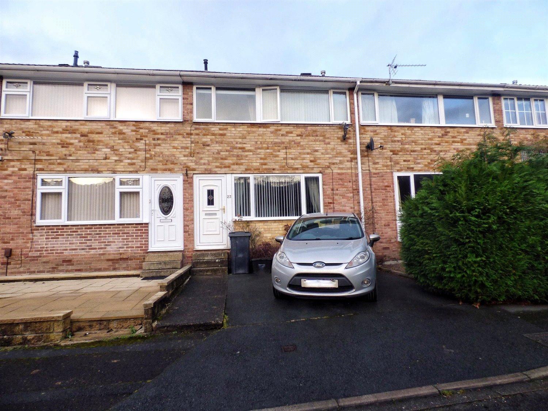 3 Bedrooms Terraced House for sale in Copley Glen, Copley, HALIFAX, West Yorkshire, HX3