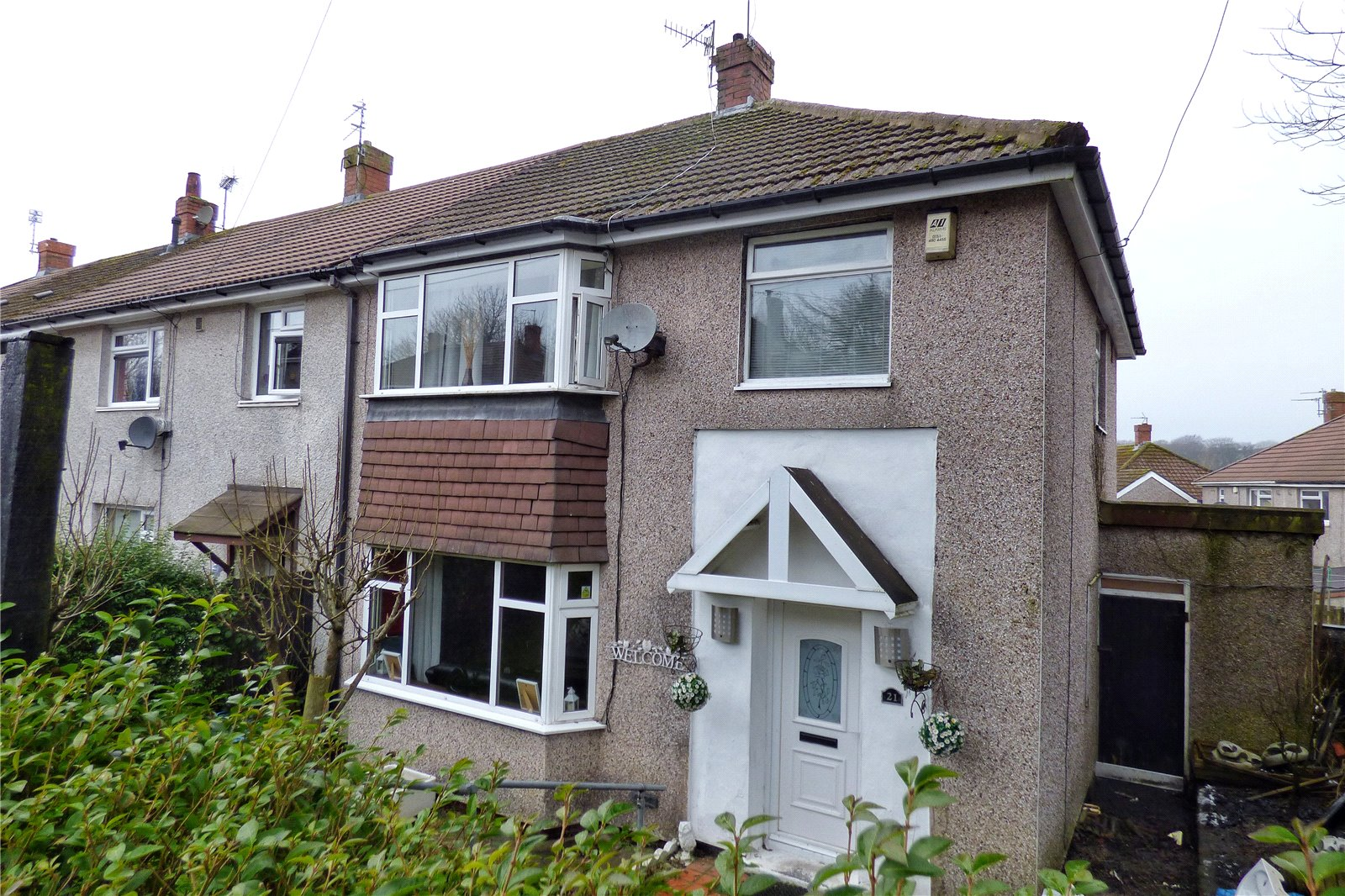 3 Bedrooms Semi Detached House for sale in Rosendale Crescent, Bacup, Lancashire, OL13