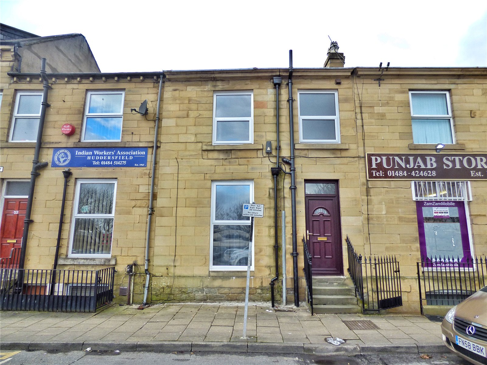 2 Bedrooms Terraced House for sale in Old South Street, Huddersfield, West Yorkshire, HD1