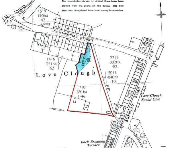 Land Commercial for sale in Land At 2 Commercial Street, Loveclough, Rossendale, Lancashire, BB4