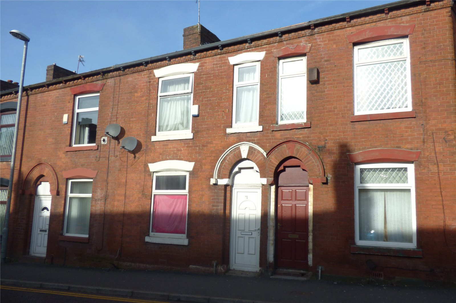 2 Bedrooms Terraced House for sale in Honeywell Lane, Hathershaw, Oldham, Greater Manchester, OL8