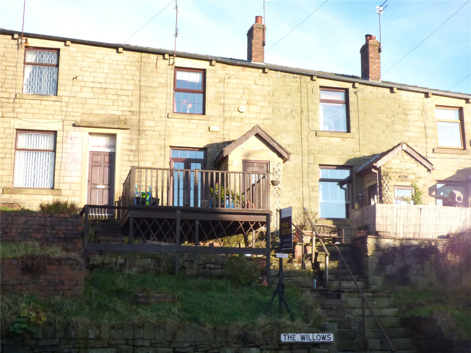 2 Bedrooms Terraced House for sale in The Willows, Whitworth, Rochdale, Lancashire, OL12