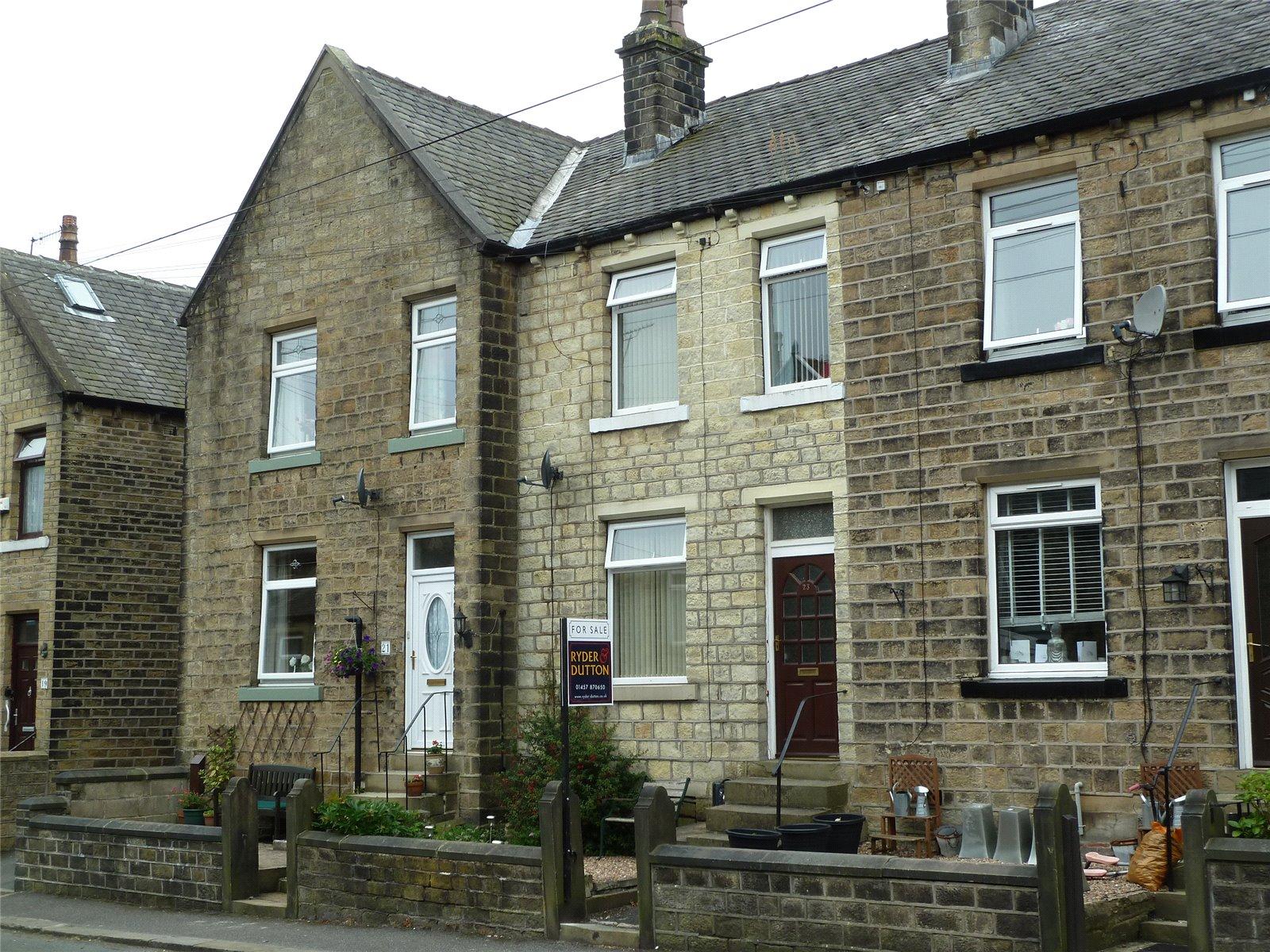 3 Bedrooms Terraced House for sale in Grange Avenue, Marsden, Huddersfield, HD7
