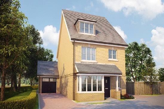 4 Bedrooms Detached House for sale in The Sandown, Bagshot Road, Knaphill, Surrey, GU212RN