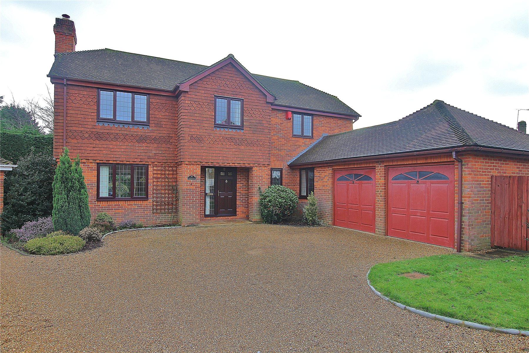 5 Bedrooms Detached House for sale in Salvia Court, Bisley, Woking, Surrey, GU24
