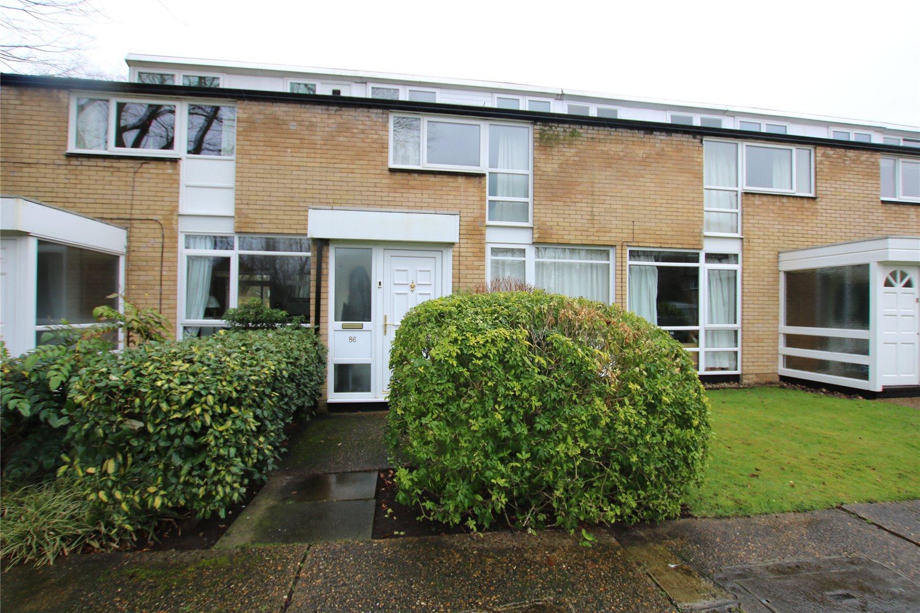 3 Bedrooms Terraced House for sale in Weymede, Byfleet, West Byfleet, Surrey, KT14