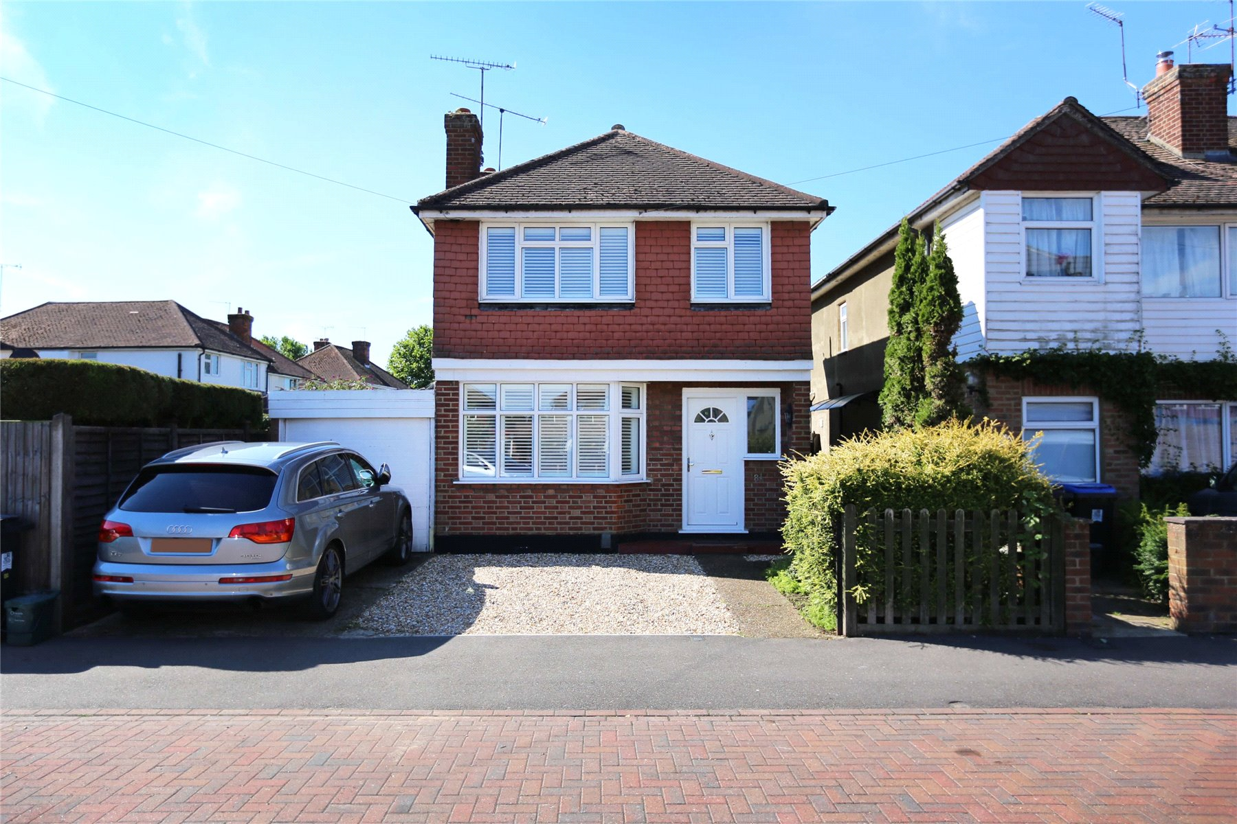 3 Bedrooms Detached House for sale in Rydens Way, Old Woking, Surrey, GU22