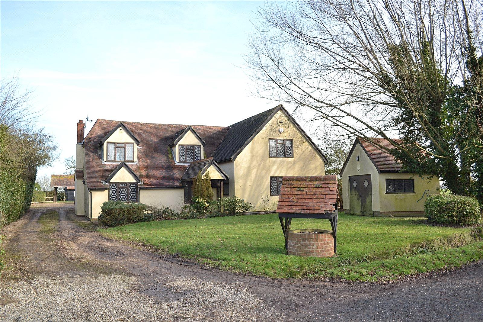独户住宅 为 销售 在 Browns End Road, Broxted, Dunmow, Essex, CM6 Dunmow, 英格兰