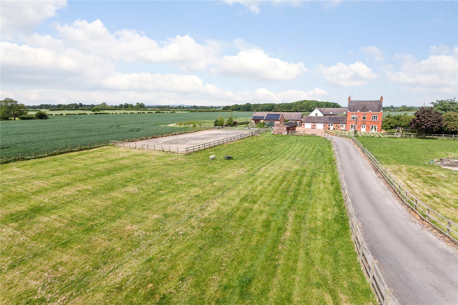단독 가정 주택 용 매매 에 Aston Juxta Mondrum, Nantwich, Cheshire, CW5 Nantwich, 영국