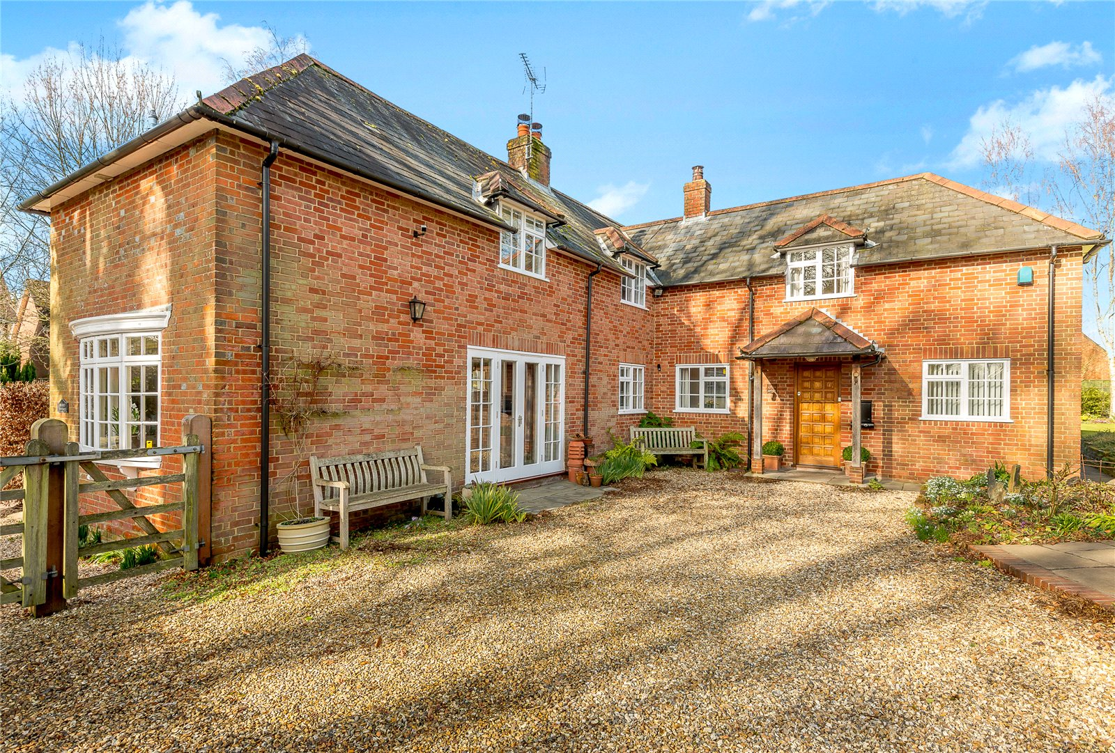 단독 가정 주택 용 매매 에 West Park Lane, Damerham, Fordingbridge, Hampshire, SP6 Fordingbridge, 영국