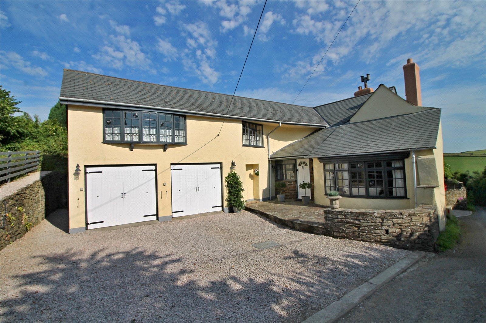 단독 가정 주택 용 매매 에 Ford, Kingsbridge, Devon, TQ7 Kingsbridge, 영국