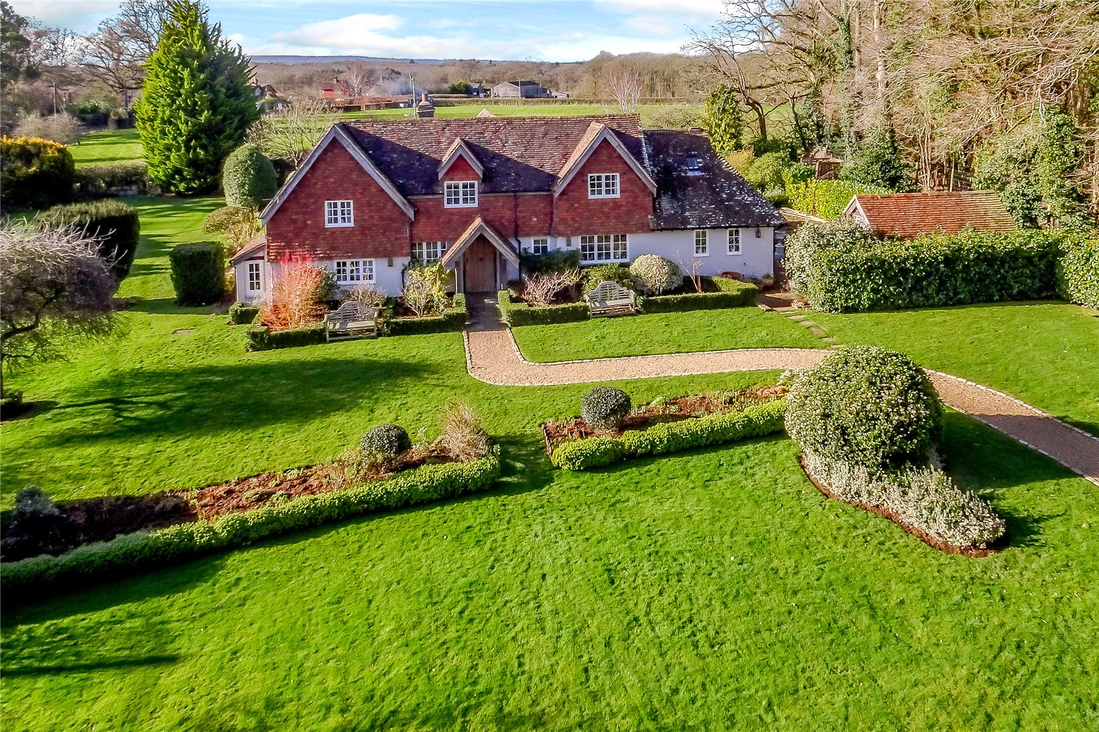 Maison unifamiliale pour l Vente à Hurlands Lane, Dunsfold, Godalming, Surrey, GU8 Godalming, Angleterre