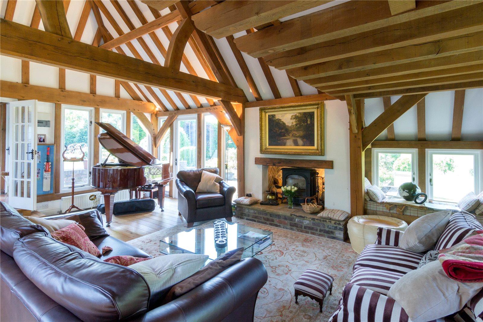 獨棟家庭住宅 為 出售 在 Common Road, Kensworth, Bedfordshire, LU6 Kensworth, 英格蘭