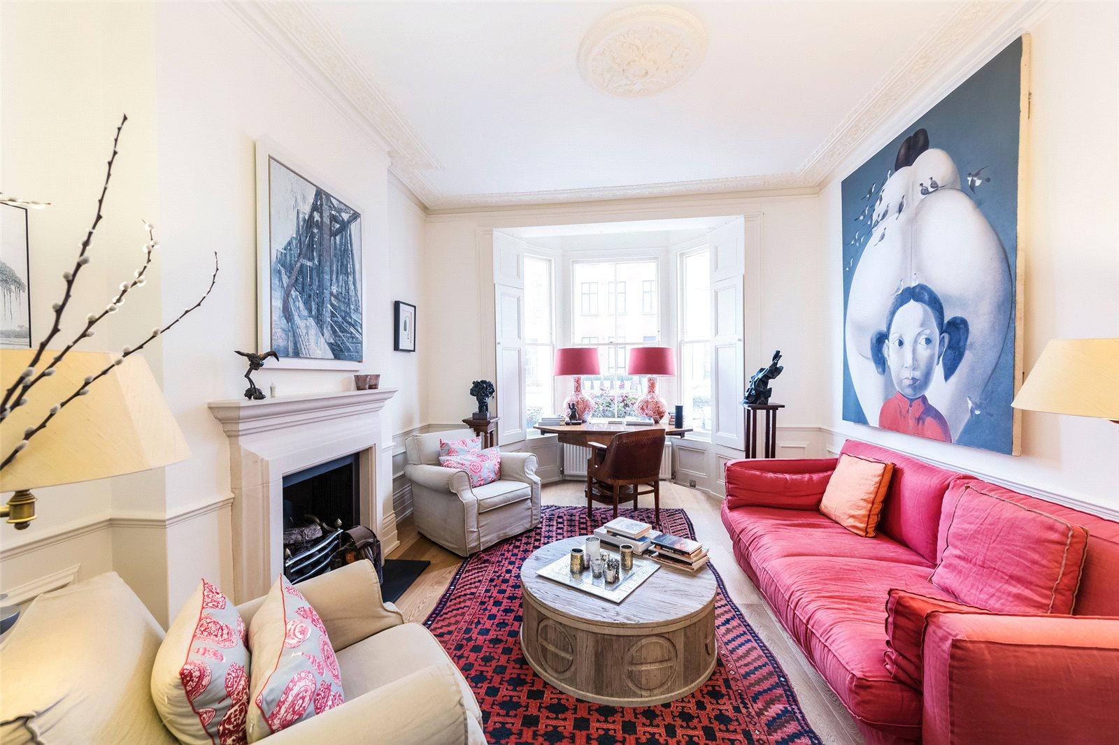 Villa per Affitto alle ore Abingdon Road, London, W8 London, Inghilterra
